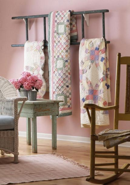 Decorating With Quilts | AllPeopleQuilt.com : ways to display quilts - Adamdwight.com