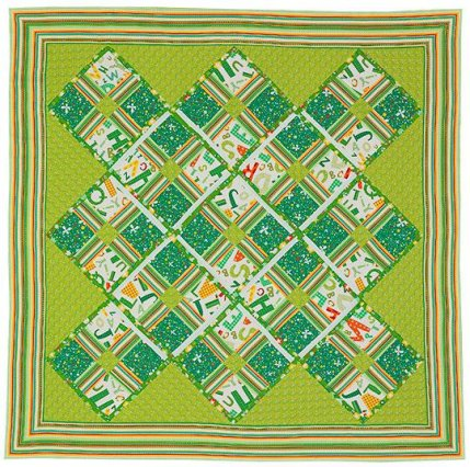 easy quilt patterns for kids - photo #13