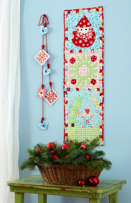 Holiday Quilt Projects AllPeopleQuilt Delectable Free Christmas Quilt Patterns