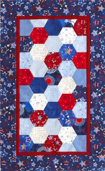 Quilts With Hexagons Allpeoplequilt Com