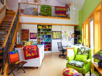 Four Quilt Designersu0027 Sewing Studios