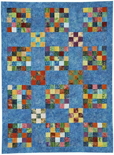 Nine-Patch Quilts | AllPeopleQuilt.com : nine block quilt pattern - Adamdwight.com