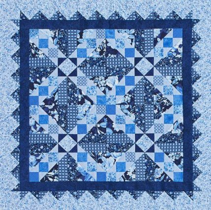 Quilting Color Trend: Blue | AllPeopleQuilt.com : blue quilt patterns - Adamdwight.com