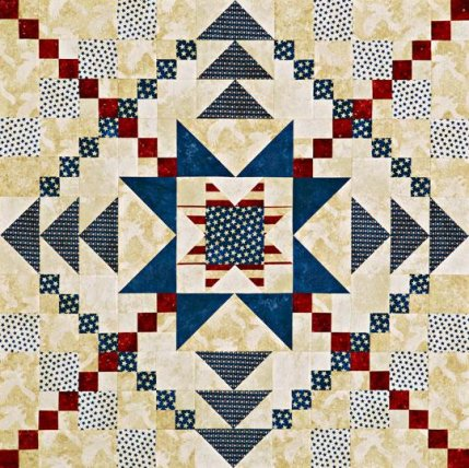 Star Block Wall Quilts Allpeoplequilt Com