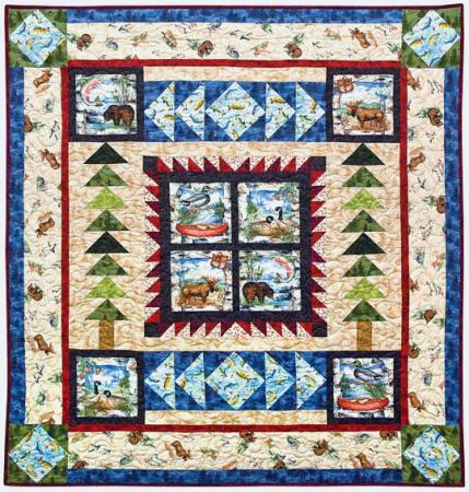 Quilt Patterns Made With Panels : Creative Panel Quilts AllPeopleQuilt.com