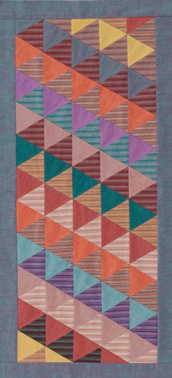Easy Triangles Table Runner Allpeoplequilt Com