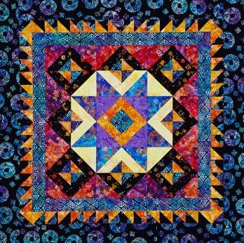 Star Bright Wall Quilt Allpeoplequilt Com