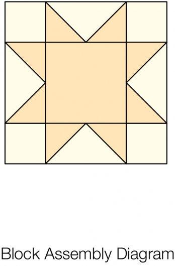 Sawtooth Star Quilt Block Allpeoplequilt Com