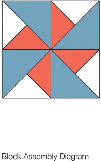 Windmill Quilt Block Allpeoplequilt Com