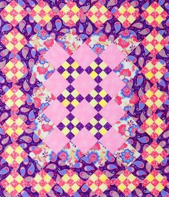 Checkerboard Nine Patch Allpeoplequilt Com