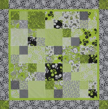 Fresh Four Patch Table Topper Allpeoplequilt Com