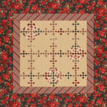 Holiday Double Nine Patch Quilt Allpeoplequilt Com