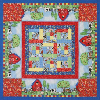 Kid S Quilted Play Mat Allpeoplequilt Com