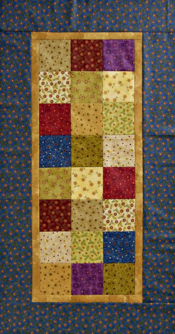 One Patch Table Runner Allpeoplequilt Com