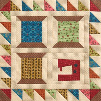 Sewing Spools Wall Quilt Allpeoplequilt Com