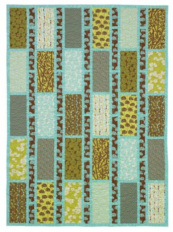 Simple Sashing And Rectangles Quilt Allpeoplequilt Com