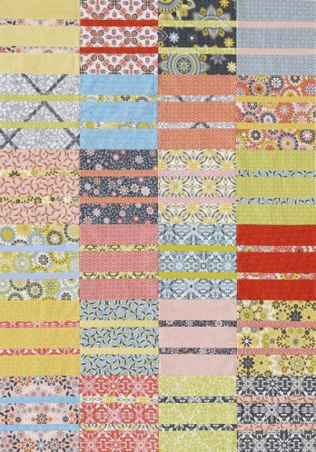 Stacked Strips Crib Quilt Allpeoplequilt Com