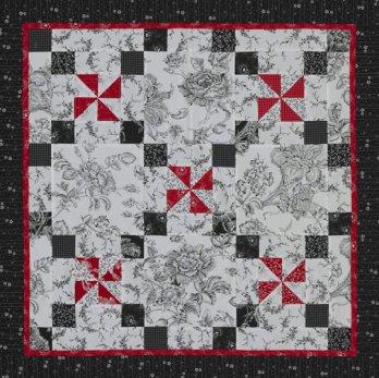 Three Color Pinwheels Allpeoplequilt Com