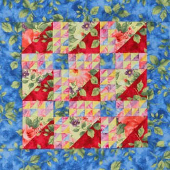 Tiny Triangles Table Topper Allpeoplequilt Com