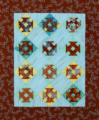 Twisted Churn Dashes Allpeoplequilt Com