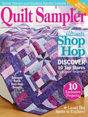 Quilt Sampler 174 Table Of Contents Fall Winter 2013