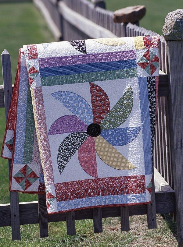 Pinwheel Flurry | AllPeopleQuilt.com : flurry quilt pattern - Adamdwight.com