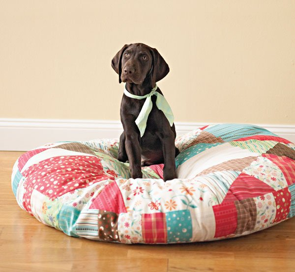 DIY Patchwork Pet Bed
