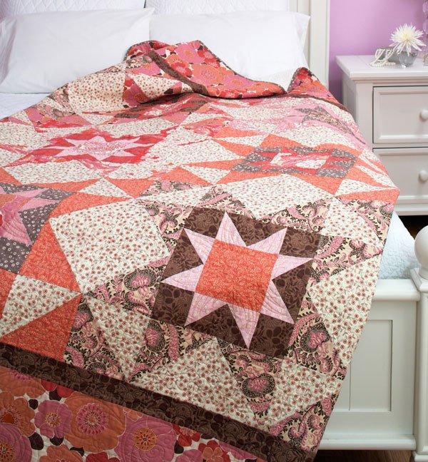Free Quilt Patterns King Size Bed : Spun Sugar AllPeopleQuilt.com