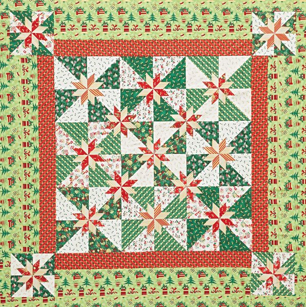 Seasonal Stars | AllPeopleQuilt.com : seasonal quilt patterns - Adamdwight.com