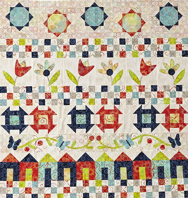 Mystery Row Quilt Row 5 Allpeoplequilt
