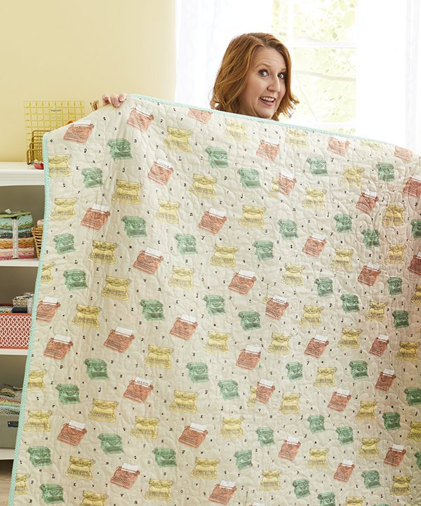 plan your quilt back and determine yardage
