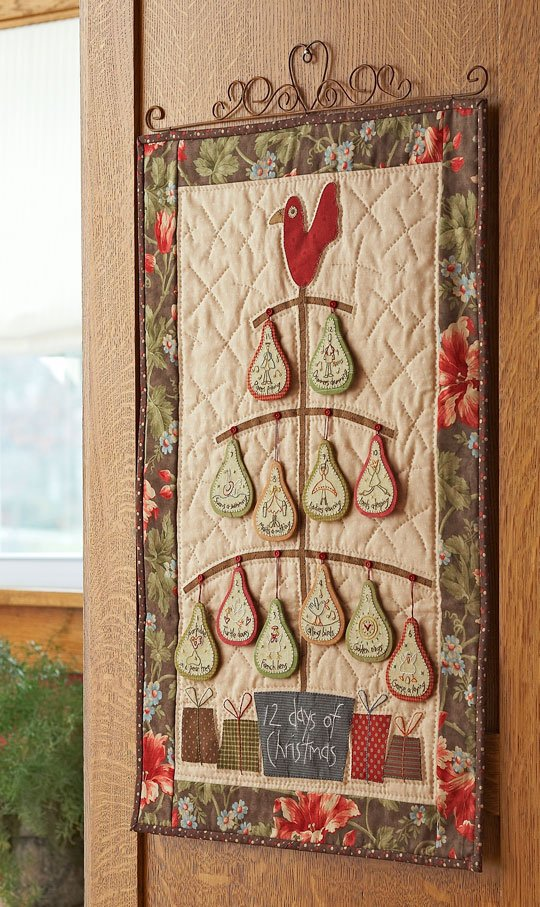 12 Days Of Christmas Banner Allpeoplequilt Com