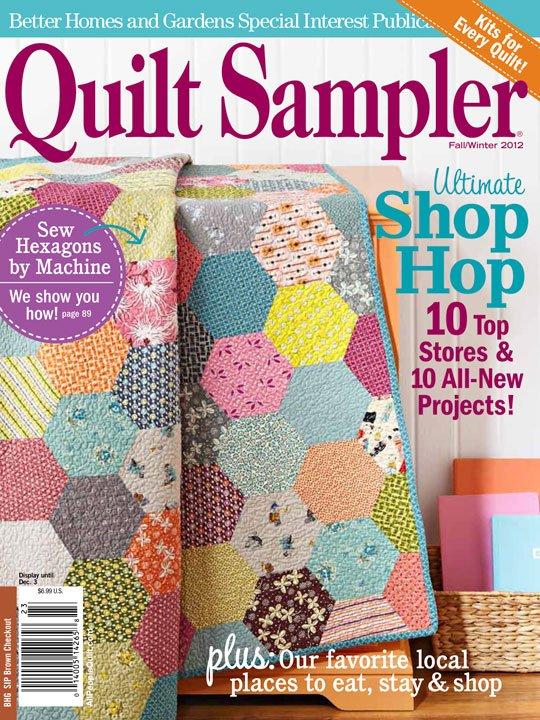 Quilt Sampler® Table of Contents Fall/Winter 2012 | AllPeopleQuilt.com : the quilt sampler - Adamdwight.com