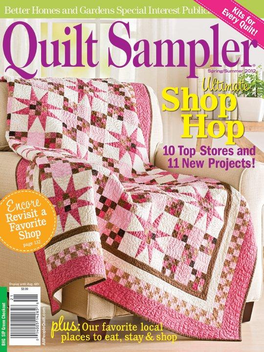 Quilt Sampler® Table of Contents Spring/Summer 2012 ... : the quilt sampler - Adamdwight.com