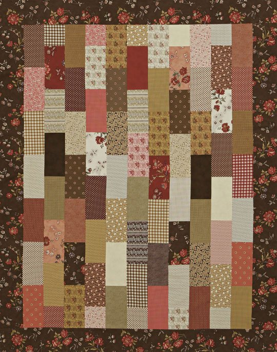 Stacked Rectangles Quilt Allpeoplequilt Com