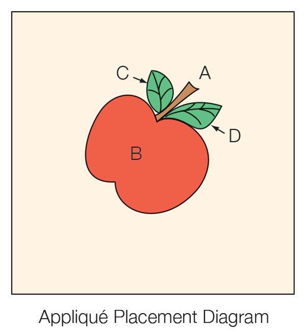Apple Quilt Block | AllPeopleQuilt.com : apple quilt block - Adamdwight.com