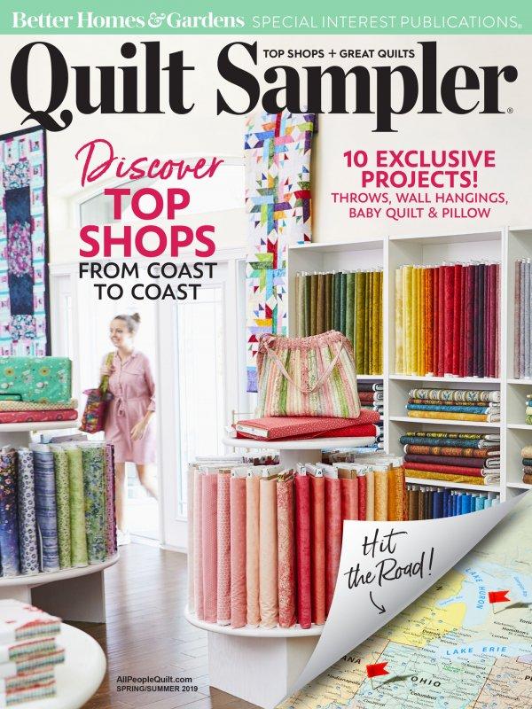 Table of Contents: Quilt Sampler Spring/Summer 2019 | AllPeopleQuilt