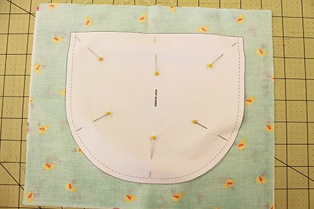 Pin And Cut With A Pattern Allpeoplequilt Com