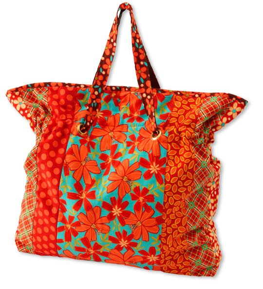 Cinch It Tote Bag | AllPeopleQuilt.com