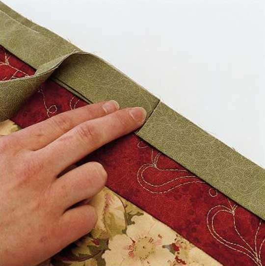 How To Bind: Prep Your Binding And Sew It On With Two