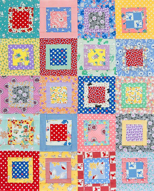 Scrappy Charm Squares Allpeoplequilt Com