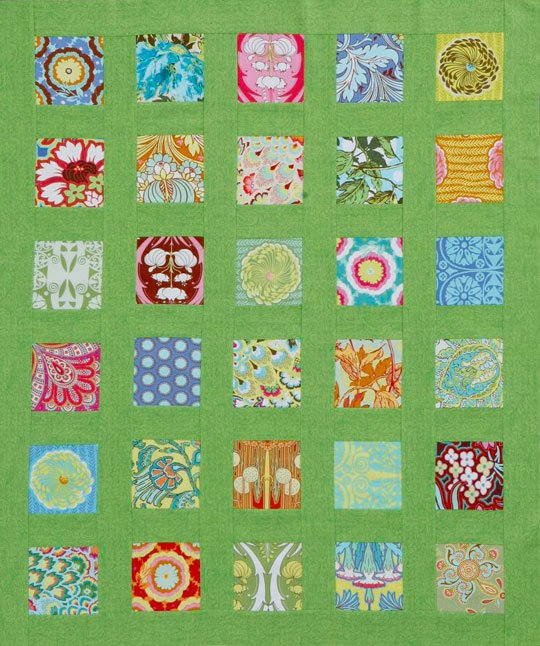 Squares And Sashing Quilt Allpeoplequilt
