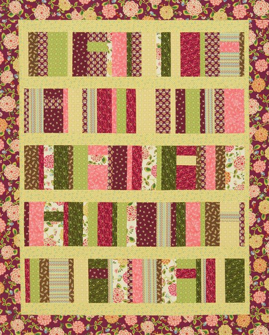 Strips and Stacks Quilt | AllPeopleQuilt com
