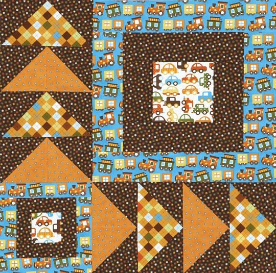 Large Flying Geese Wall Quilt Allpeoplequilt Com