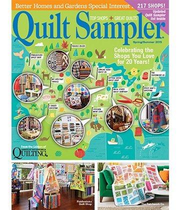 Quilt Sampler Table of Content Spring/Summer 2015 | AllPeopleQuilt.com