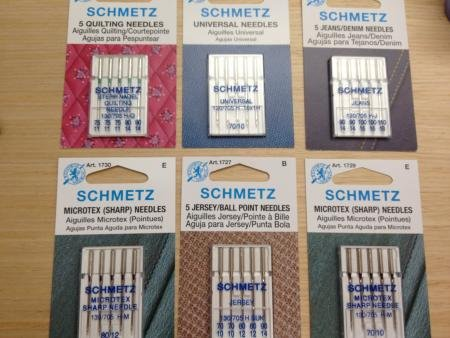 Four Common Machine Needle And Thread Combinations AllPeopleQuilt Classy What Size Sewing Machine Needle For Denim
