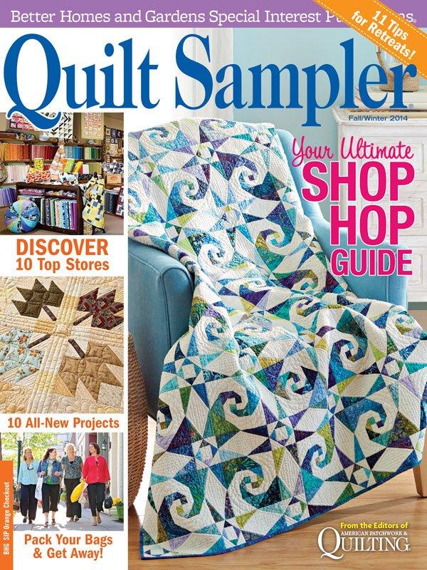 Quilt Sampler Table of Contents Fall/Winter 2014 | AllPeopleQuilt.com : the quilt sampler - Adamdwight.com