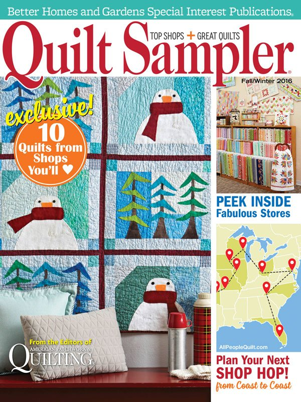 Image result for quilt sampler magazine fall 2016