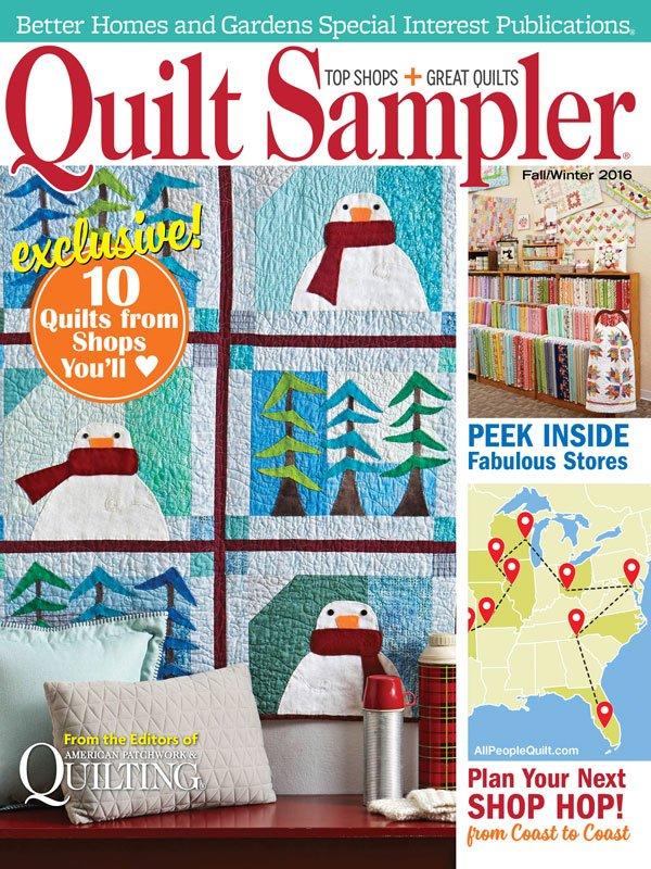 Image result for quilt sampler magazine fall 2016