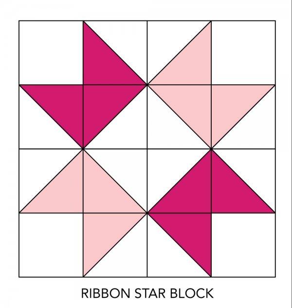Ribbon Star Quilt Block AllPeopleQuilt New Ribbon Pattern